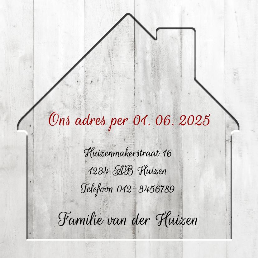 Nieuwe Woning in hout - BK 3