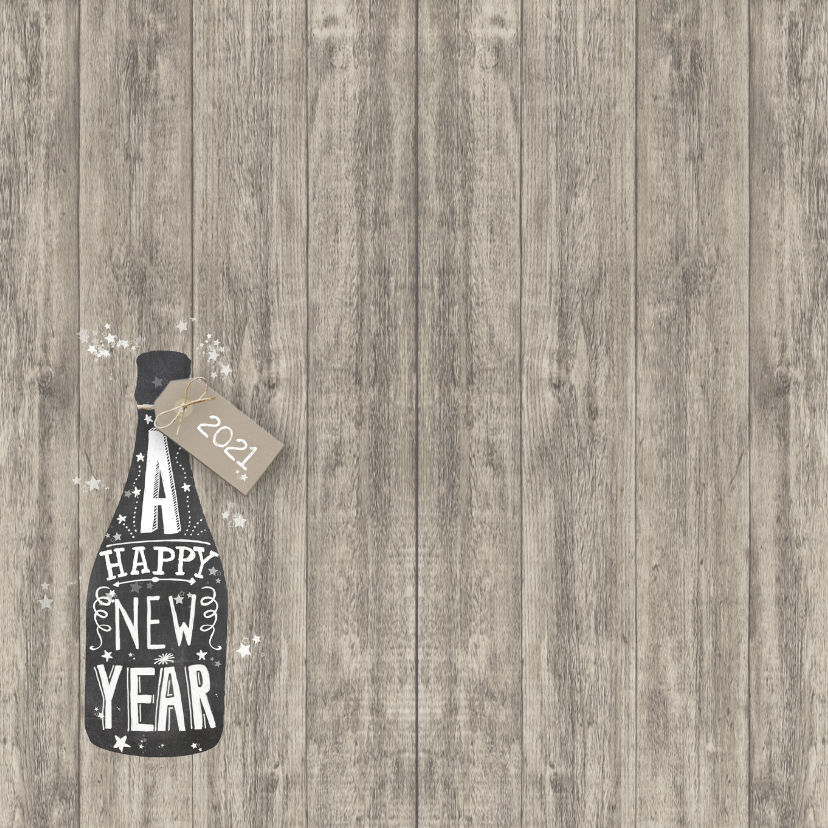 Nieuwjaar champagne  2