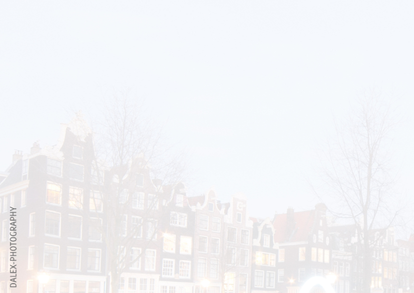 Nieuwjaarskaart- Amsterdam-Canal 2