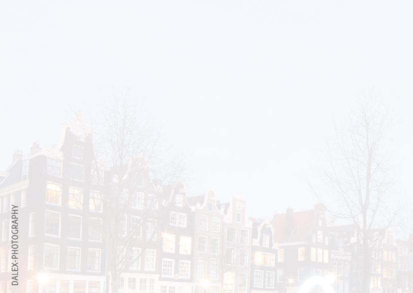 Nieuwjaarskaart-Amsterdam Light 2