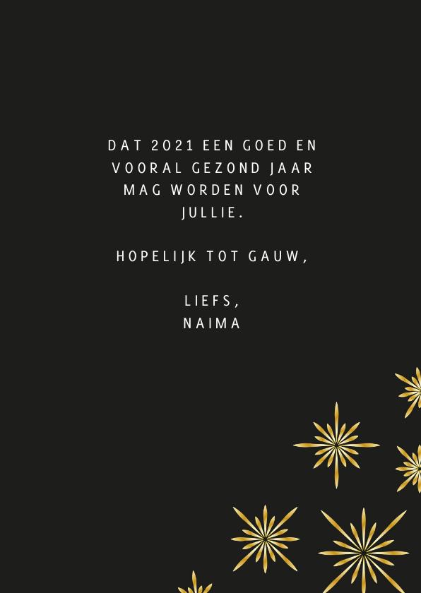 Nieuwjaarskaart champagne  3