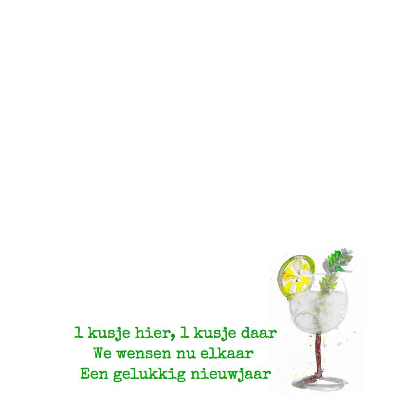 Nieuwjaarskaart Gin Tonic 3