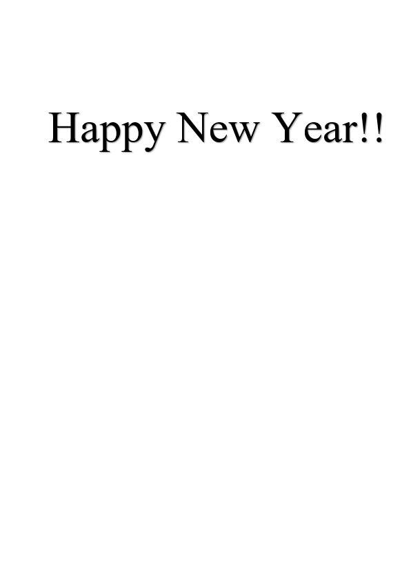 Nieuwjaarskaart Happy New Year Owl 3