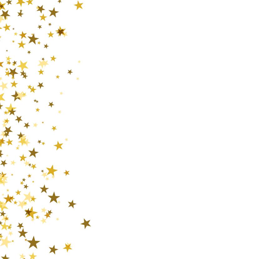 Nieuwjaarskaart happy new year sterren 2