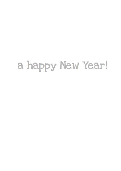 Nieuwjaarskaart I wish you... 3