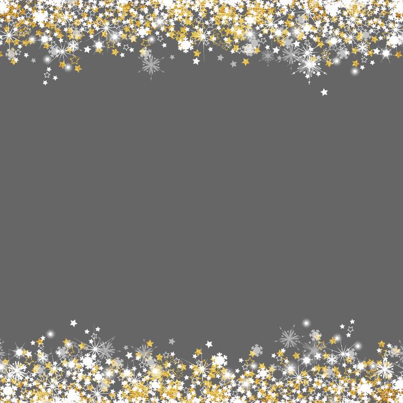 Nieuwjaarskaart schitterend 2019 grijs en goud 2