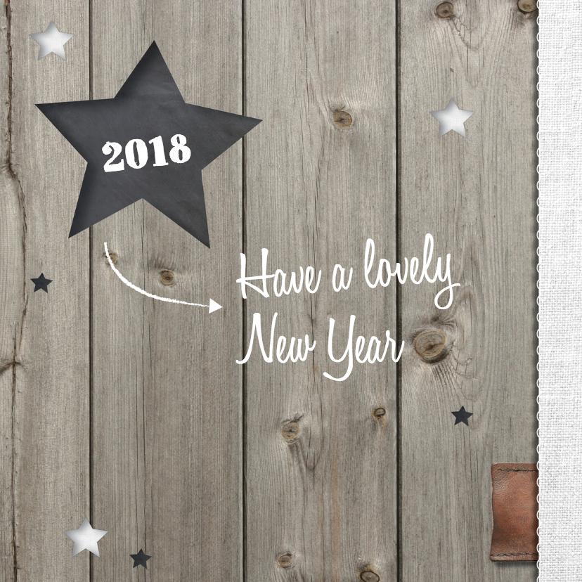 nieuwjaarskaart Sterren - LOVZ 2