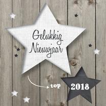 nieuwjaarskaart Sterren - LOVZ
