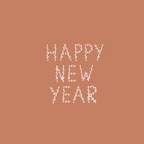 Nieuwjaarskaarten - Nieuwjaarskaart takjes - HM