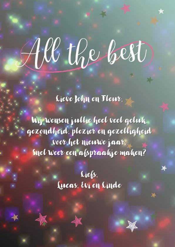 Nieuwjaarskaarten Wishing you... 3