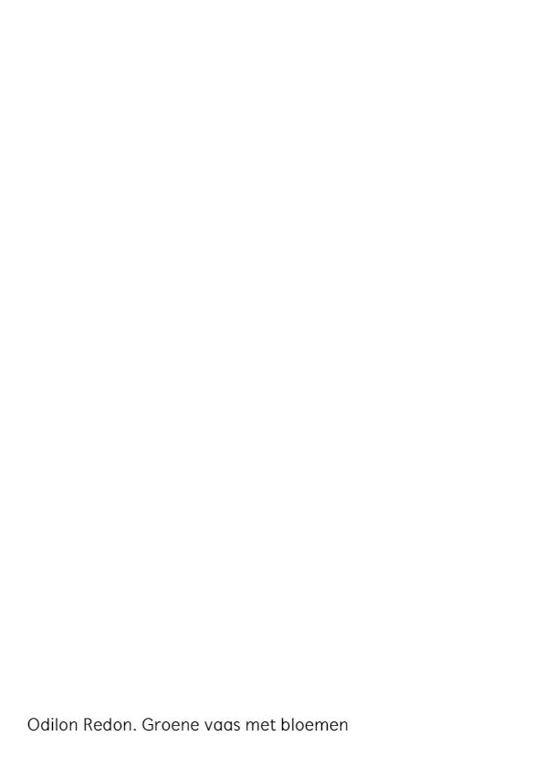 Odilon Redon. Groene vaas met bloemen 2