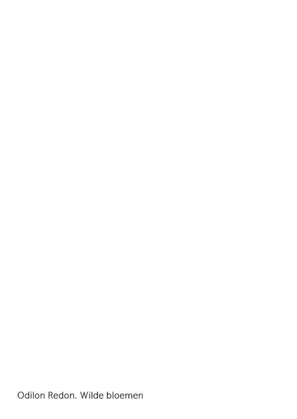 Odilon Redon. Wilde bloemen 2