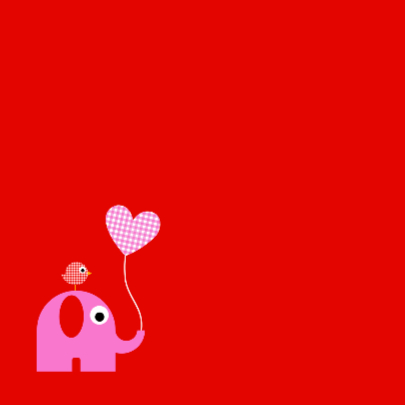 Olifantje met ballon meisje 2