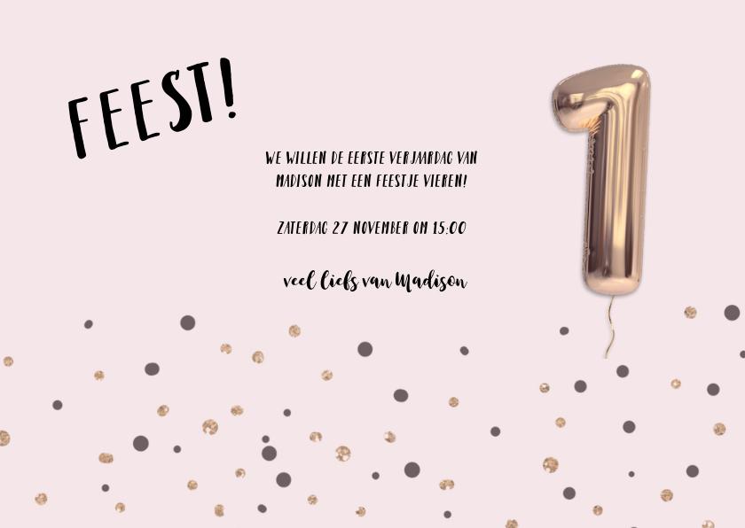 One! ballonnen verjaardags feestje 3
