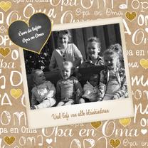 Opa en Oma kraft fotokaart