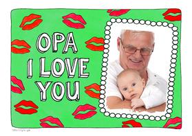 Opa & Omadag kaarten - Opa I love you - SD