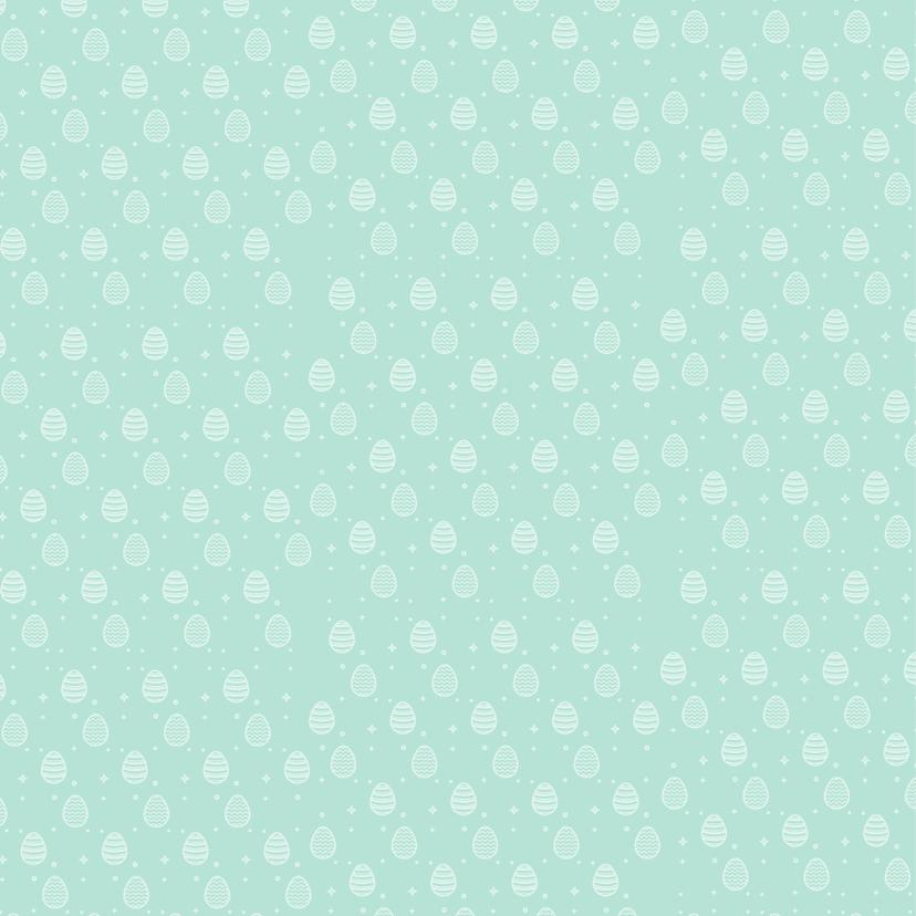 Paaskaart paaseieren patroon 2