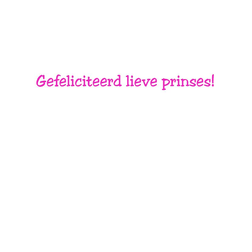 Prinsesje 4 jaar! 3