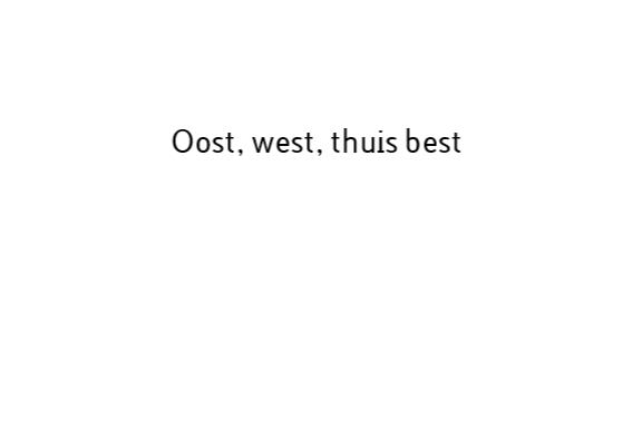 QR code scan oost west thuis best 3