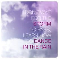 Regen en storm sterkte kaartje