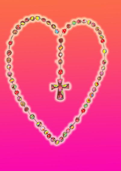 Religiekaart Rozenkrans PA 2