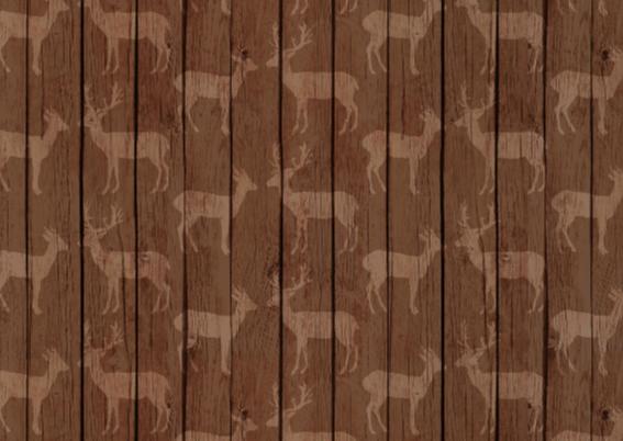 Rendier houten achtergrond 2