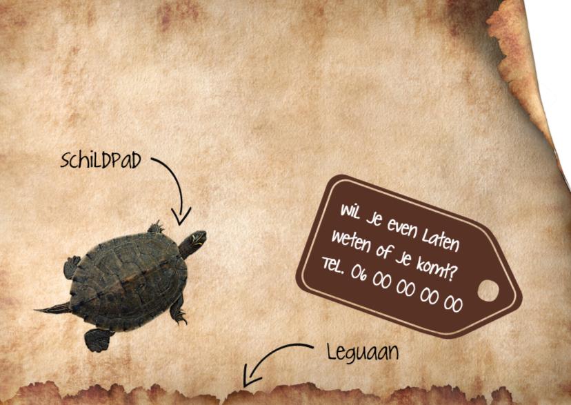 Reptielen en oud papier-isf 2