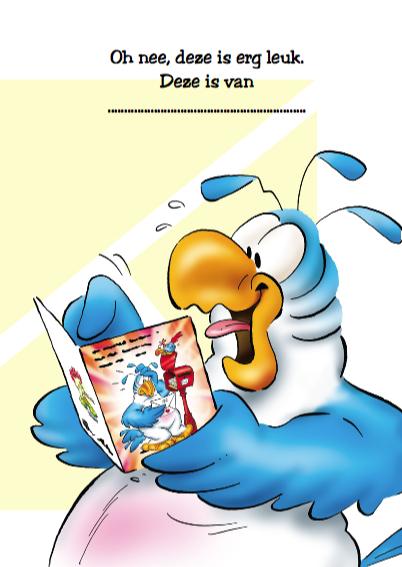 rocco verjaardag 15 papegaai met kaart 3