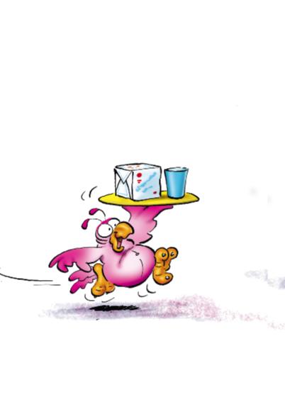 rocco verjaardag 23 papegaai met fles 2