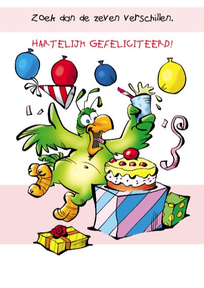 Rocco verjaardag papegaaitje ballon 3