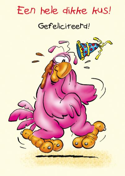 rooco verjaardag 4 papegaai met ijsje 3