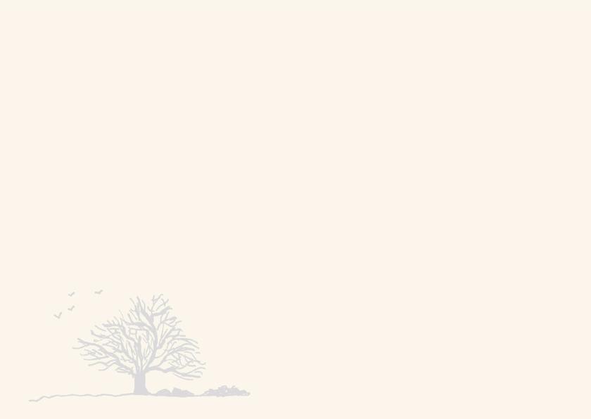 Rouwkaart rouwboom 3