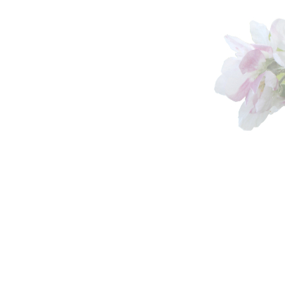 Rouwkaart sfeervolle bloemen 3