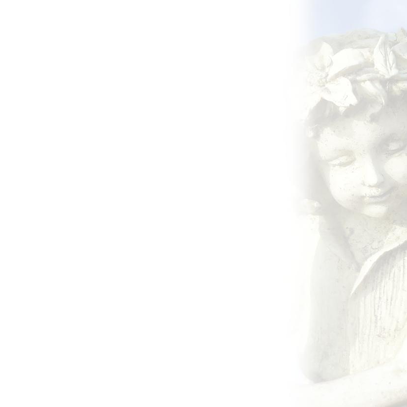 Rouwkaart Vlinderkindje 3