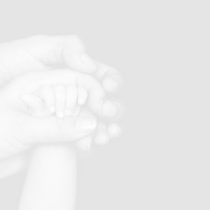 Rouwkaart voor baby of kind 2