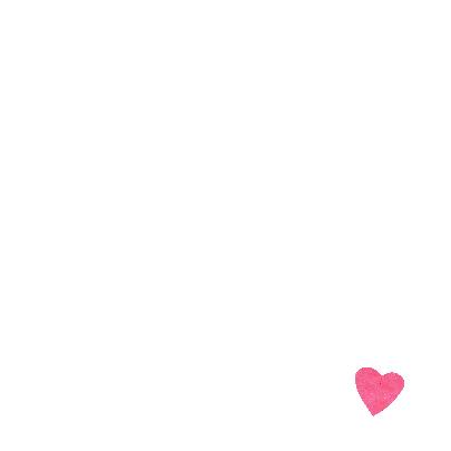 Roze hart op licht grijze achtergrond 3