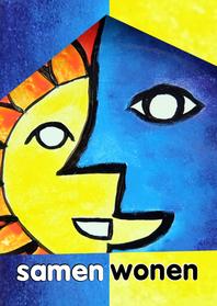 Samenwonen kaarten - Samenwonen Zon maan - AW