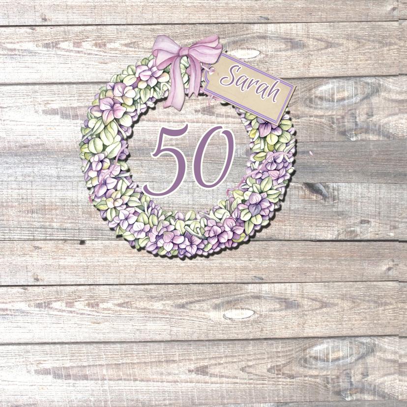 Sarah bloemenkrans hortensia 2