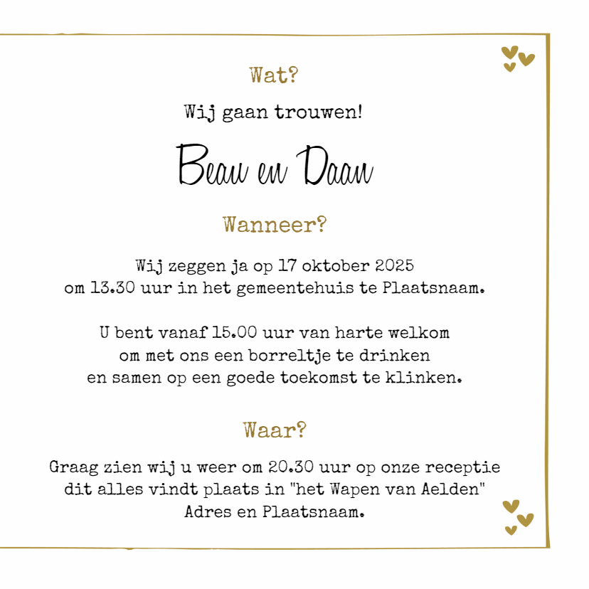 Save the Date Baboesjka 3