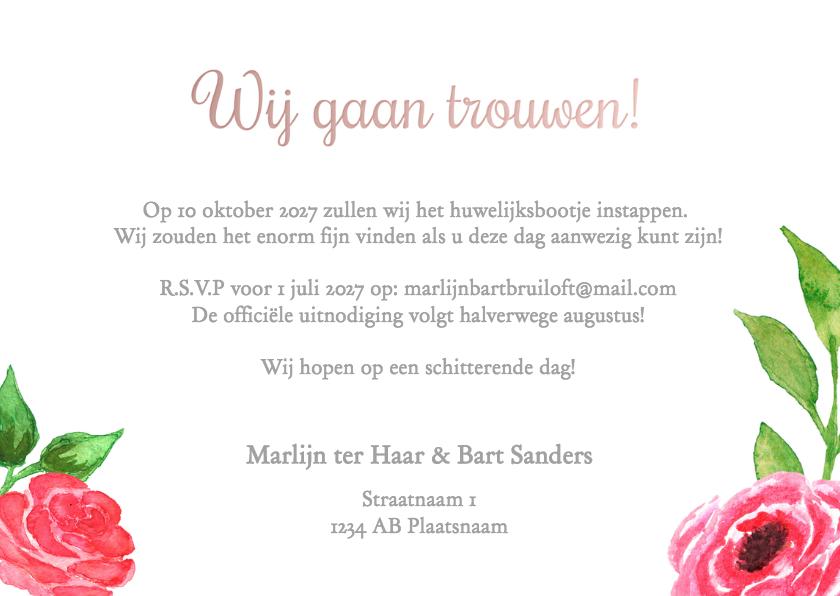 Save the Date Marlijn Bart - DH 3