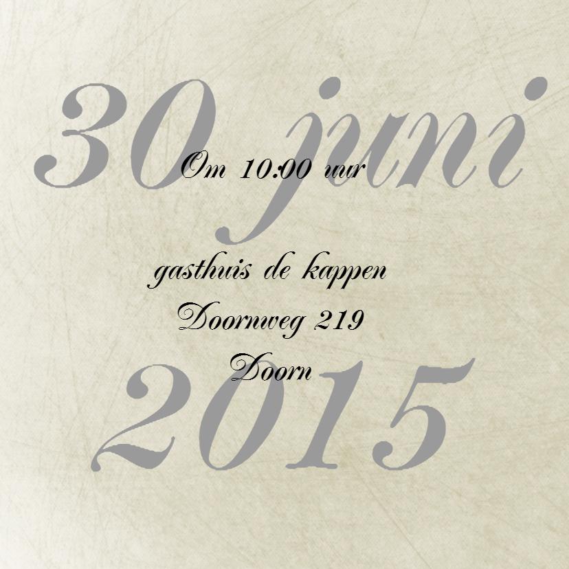 Save the Date romatisch 2
