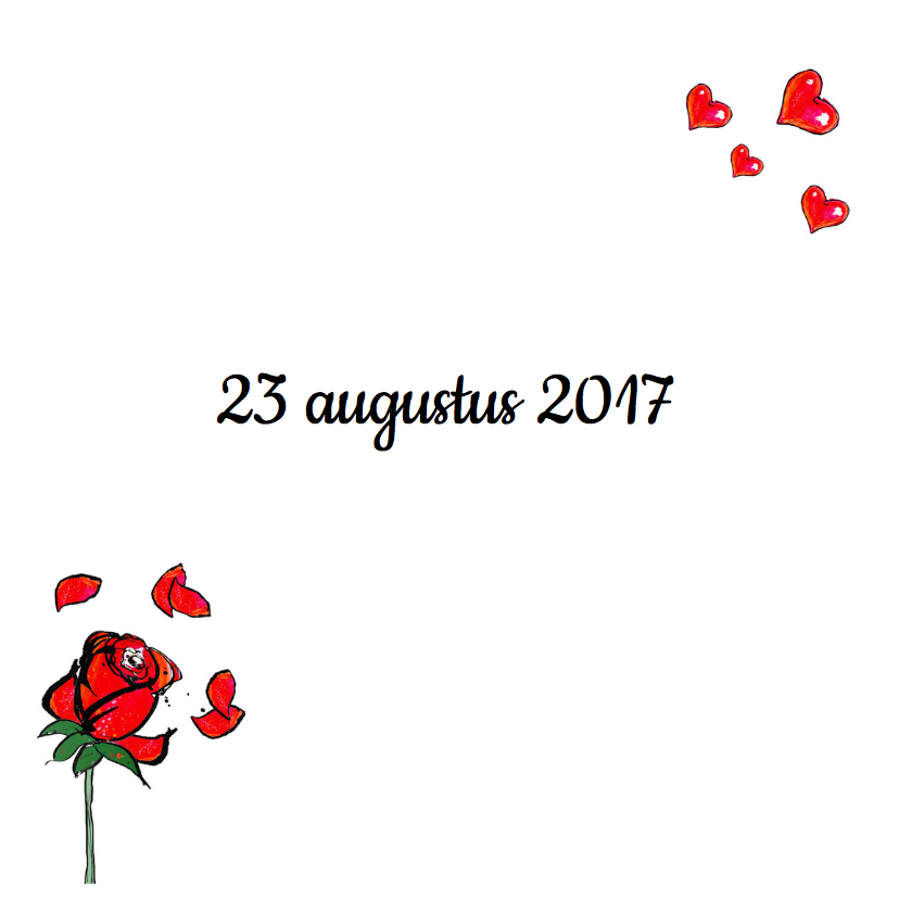 Save the date rozen 2