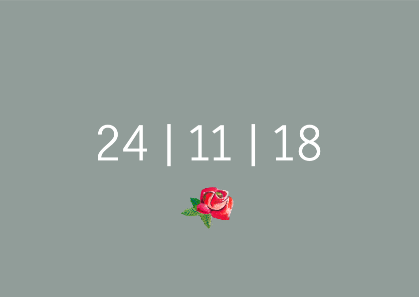 Save the Date Secret Rose Garden 3