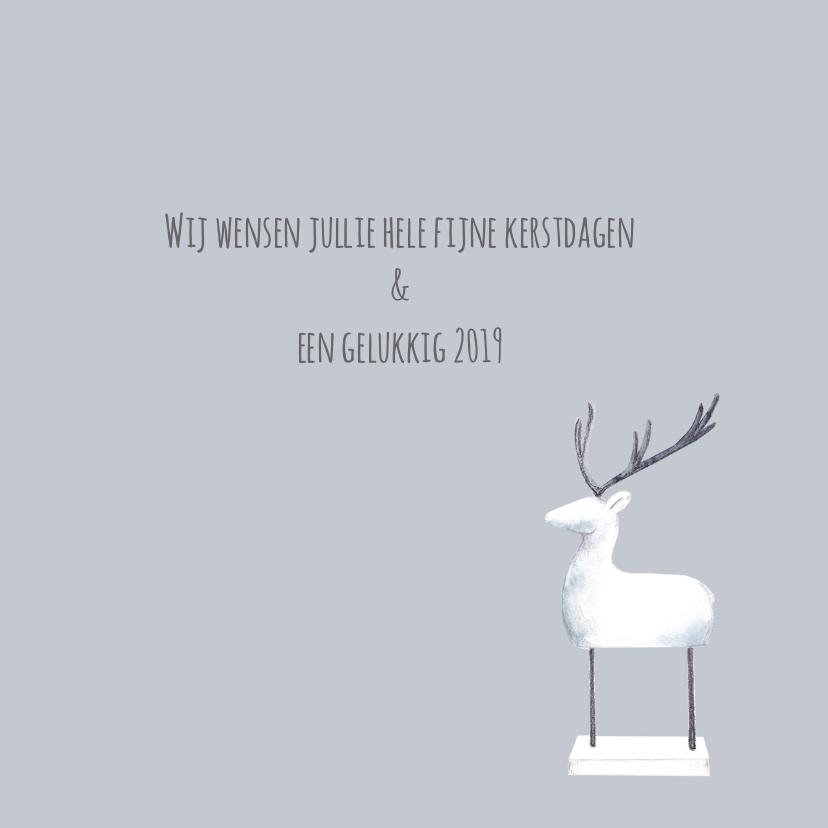 Scandinavische kerstsfeer kaart 3
