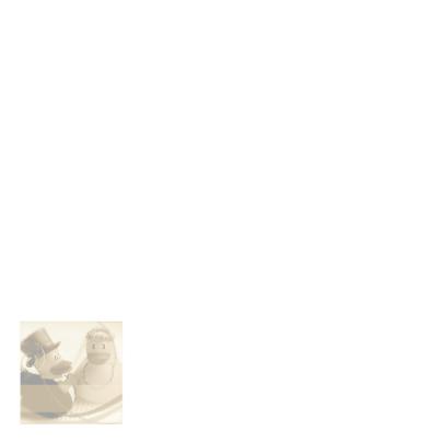 Sepia bruidspaar-eendjes jubileumkaart 2