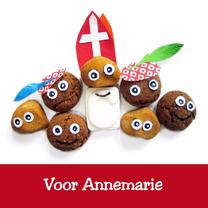Sinterklaaskaarten - Sint van snoepgoed