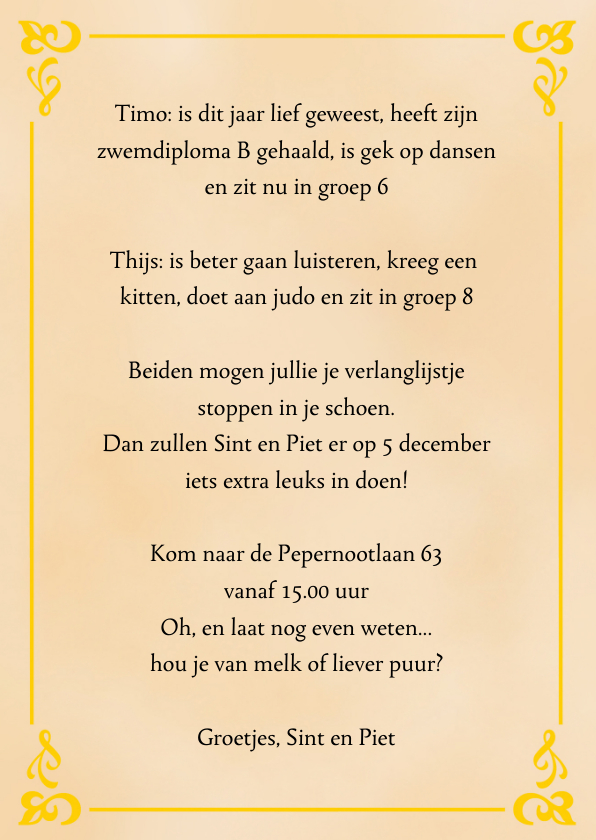 Sinterklaas boek met eigen foto 3