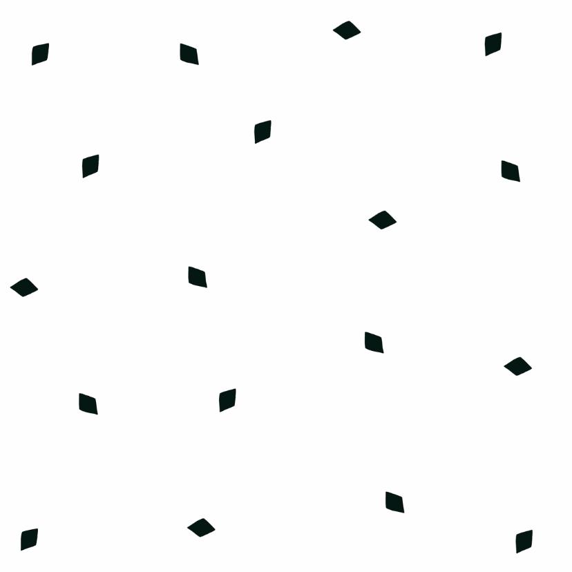 Sinterklaas kaart zwart wit  2