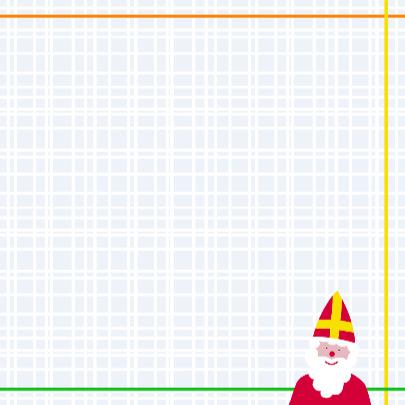Sinterklaas met Ruit en Stippen 3