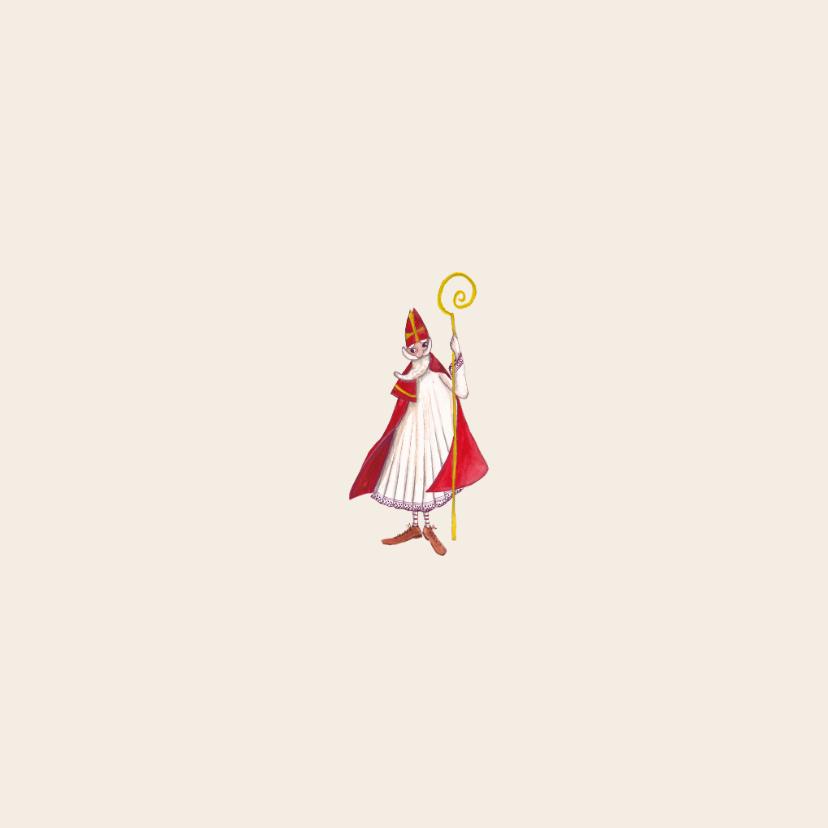 Sinterklaas Pakjes Avond Illustratie 2